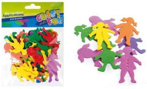 1eb8efbd Ozdoby dekoracyjne EVA Dzieci mix wzorów i kolorów